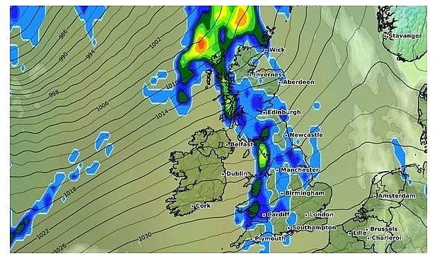 UK and europe weather forecast latest, november 21: temperatures fall below freezing as snow sets to cover