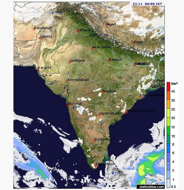 India weather forecast latest, November 22: Minimum temperature witnesses a sharp drop