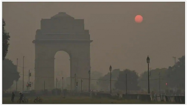 India weather forecast latest, November 24: Western disturbance briefly causes a slight increase in temperatures
