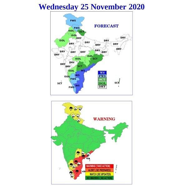 India weather forecast latest, November 25: Temperatures rise as air quality in Delhi worsens