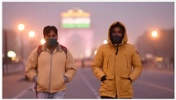 india weather forecast latest november 25 temperatures rise as air quality in delhi worsens