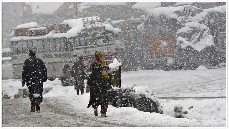 India weather forecast latest, November 27: Light snow and rainfall in isolated places in Valley