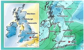 uk and europe weather forecast latest november 27 big freeze to grip britain with a blanket of fog