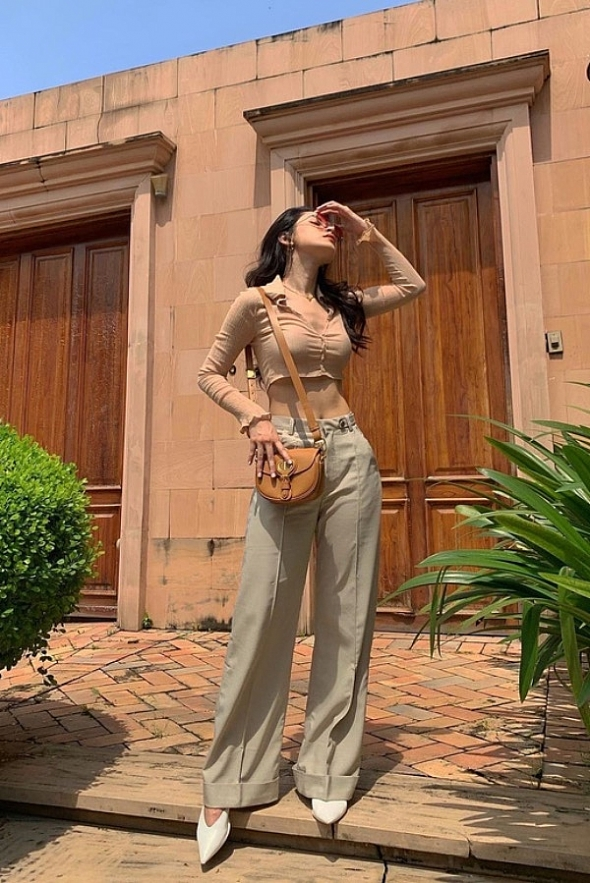 Vietnamese celebrities favor shades of beige