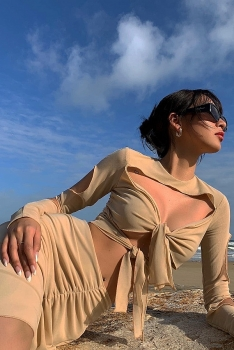 vietnamese celebrities favor shades of beige