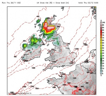 uk and europe weather forecast latest november 28 icy temperatures with heavy snowfall to cover britain