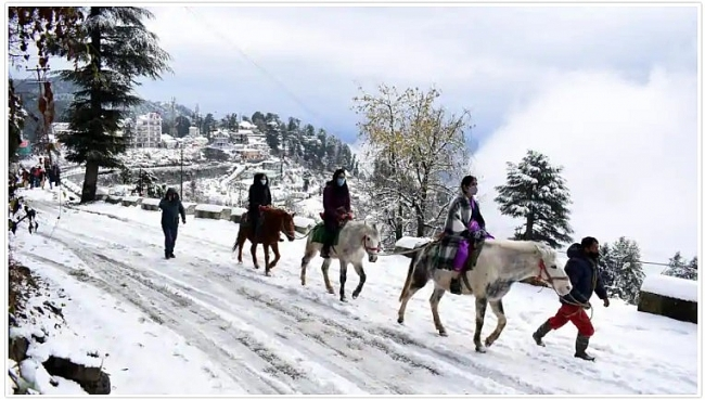 India weather forecast latest, November 28: Some parts witness fresh snowfall but clear conditions expected