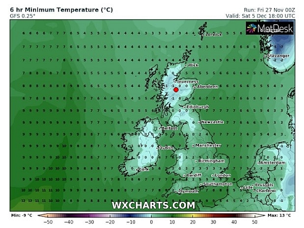 UK and Europe weather forecast latest, November 29: Severe weather with dense icy fog lingers