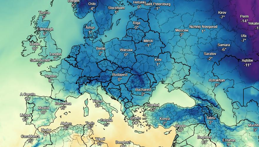 UK and Europe weather forecast latest, November 30: