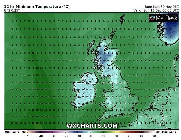 UK and Europe weather forecast latest, December 2: Freezing temperatures, fog and snow start the Christmas season