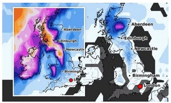 uk and europe weather forecast latest december 2 freezing temperatures fog and snow start the christmas season