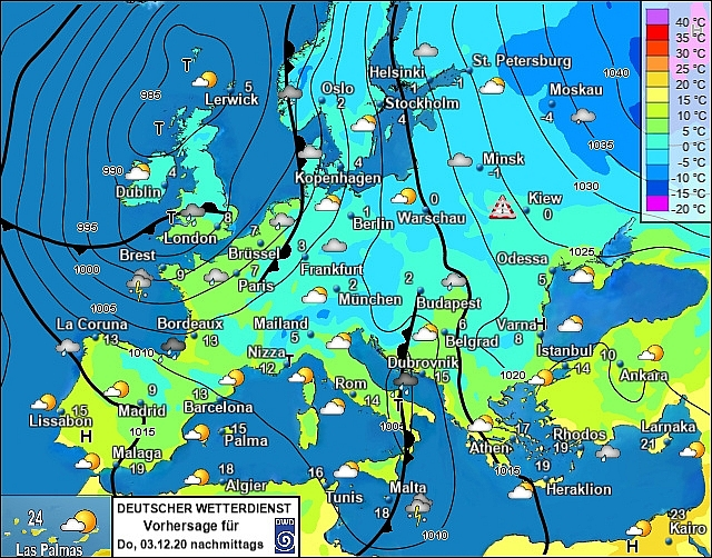 UK and Europe weather forecast latest, December 3: Freezing cold arrives with an alarming snow plume
