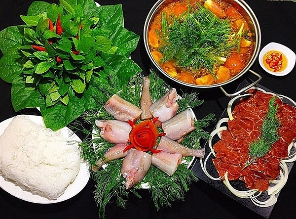 Khoai hotpot, a famous local food dishes in Quang Binh Province