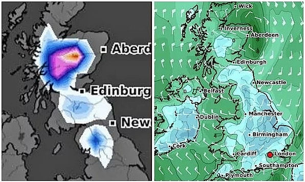 UK and Europe weather forecast latest, December 10: Big freeze with snow and icy conditions in six weeks sets to batter Britain