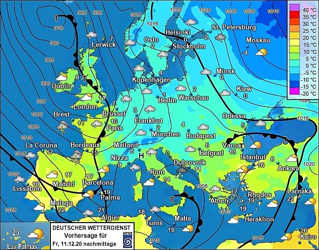 UK and europe weather forecast latest, december 11: heavy rain thundery showers set to bombard the uk