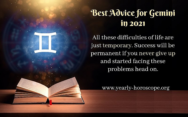 Yearly Horoscope 2021: Astrological Prediction for Gemini