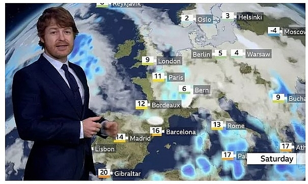 UK and Europe weather forecast latest, December 12: Strong winds and outbreaks of rain cover the UK