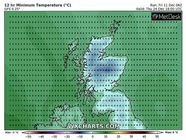 UK and Europe weather forecast latest, December 13: Freezing Christmas to come with  7 degree Celsius