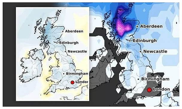 UK and Europe weather forecast latest, December 13: Freezing Christmas to come with -7 degree Celsius