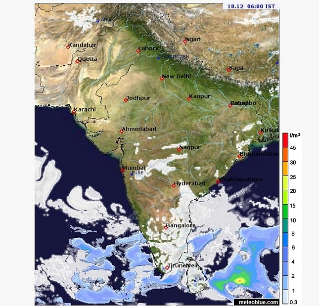 India weather forecast latest, December 18: Cold wave to persist and scattered to fairly widespread rain over Tamil Nadu, Kerala