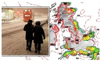 uk and europe weather forecast latest december 18 conditions turn colder with snow over northern hills for christmas