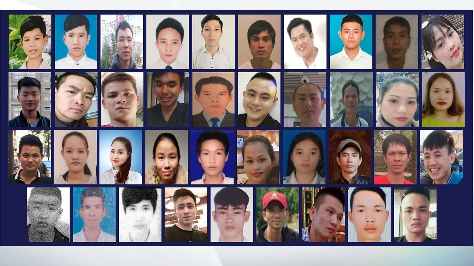 Vietnamese truck deaths: Two men found guilty of manslaughter of 39 people in UK