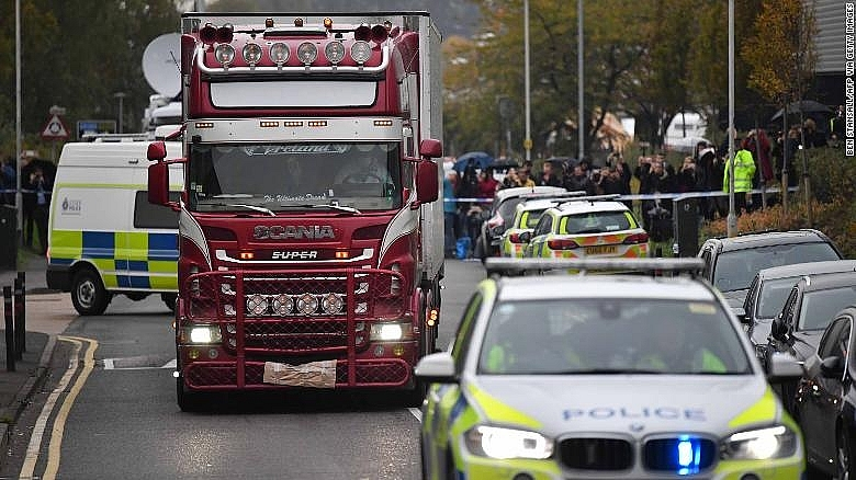39 Vietnamese truck deaths: Two men found guilty of manslaughter in UK
