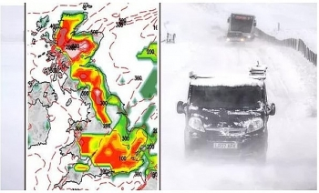 uk and europe weather forecast latest december 25 ferocious polar blast and snow to blanket the uk