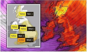 uk and europe weather forecast latest december 26 amber warning for wind and rain this weekend in light of storm bella