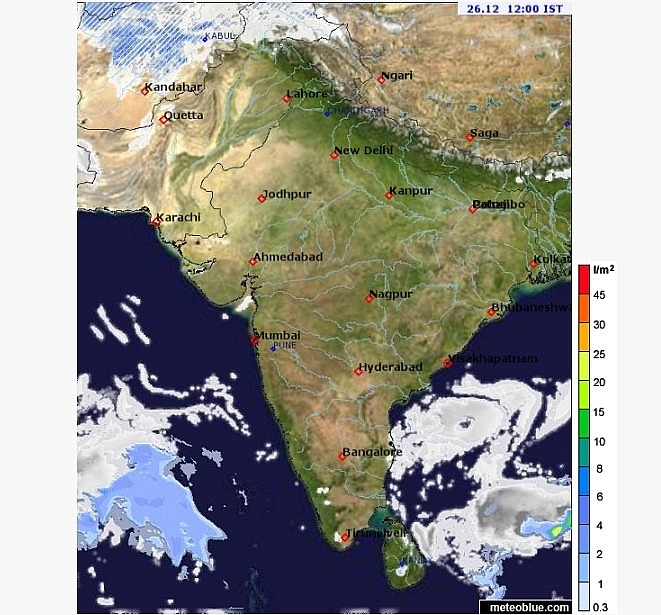 India weather forecast latest, December 26: A cold wave persits in Northwestern areas with very poor air quality