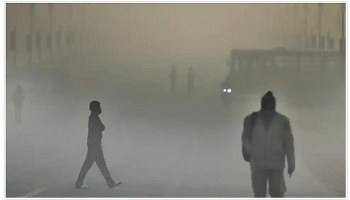 india weather forecast latest december 26 a cold wave persits in northwestern areas with very poor air quality