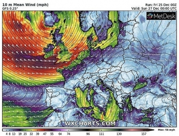 uk and europe weather forecast latest december 27 widespread disruption heavy rain bear down the uk as storm bella sets to hit