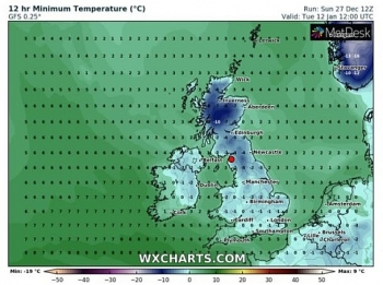 uk and europe weather forecast latest december 30 snow showers smash britain as temperatures continue to fall