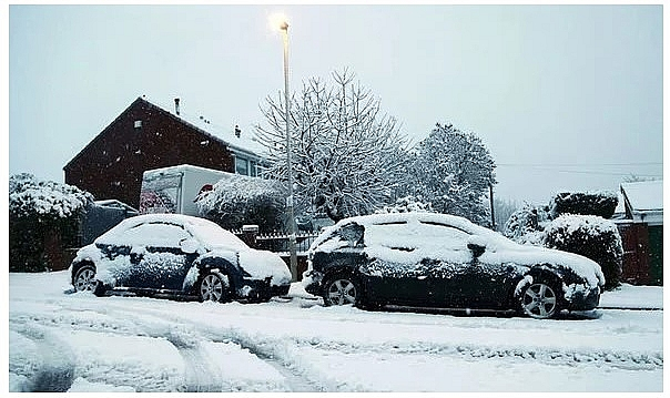 UK and Europe weather forecast latest, December 31:  More ice, snow and wintry showers to blanket large parts of the UK