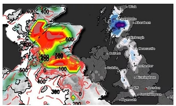 UK and Europe weather forecast latest, January 1: Heavy snow to hit Britain amid biggest winter threat in decade