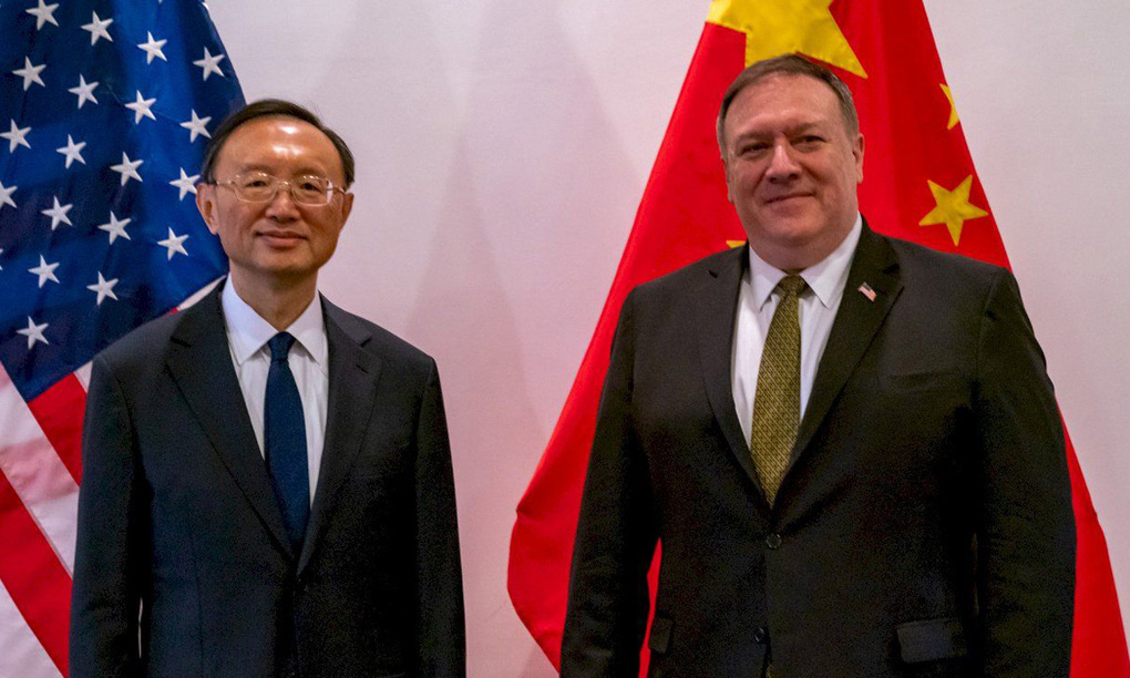 """The risk of a """"hot"""" conflict between the US - China confrontation"""