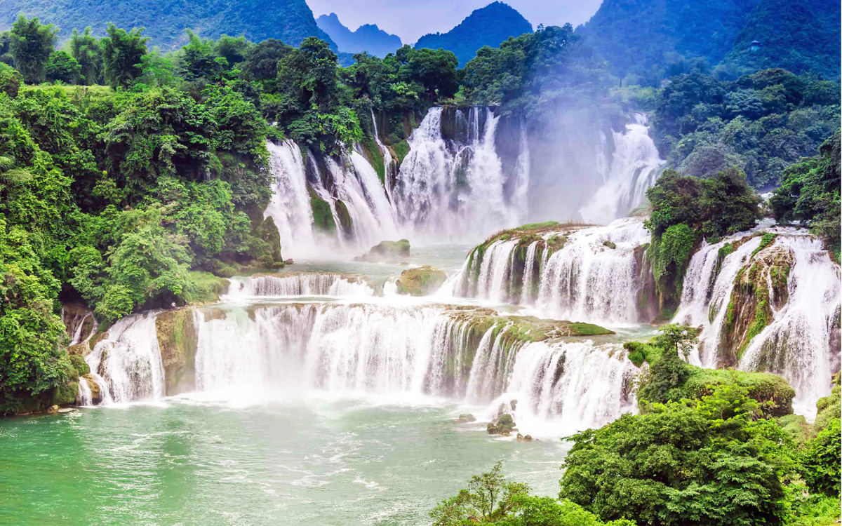non nuoc cao bang geological parks praised in 50 most attractive sights the world