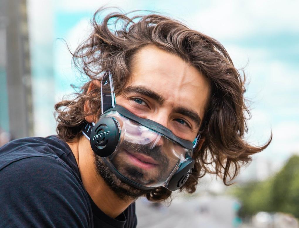 transparent face masks become hot trend