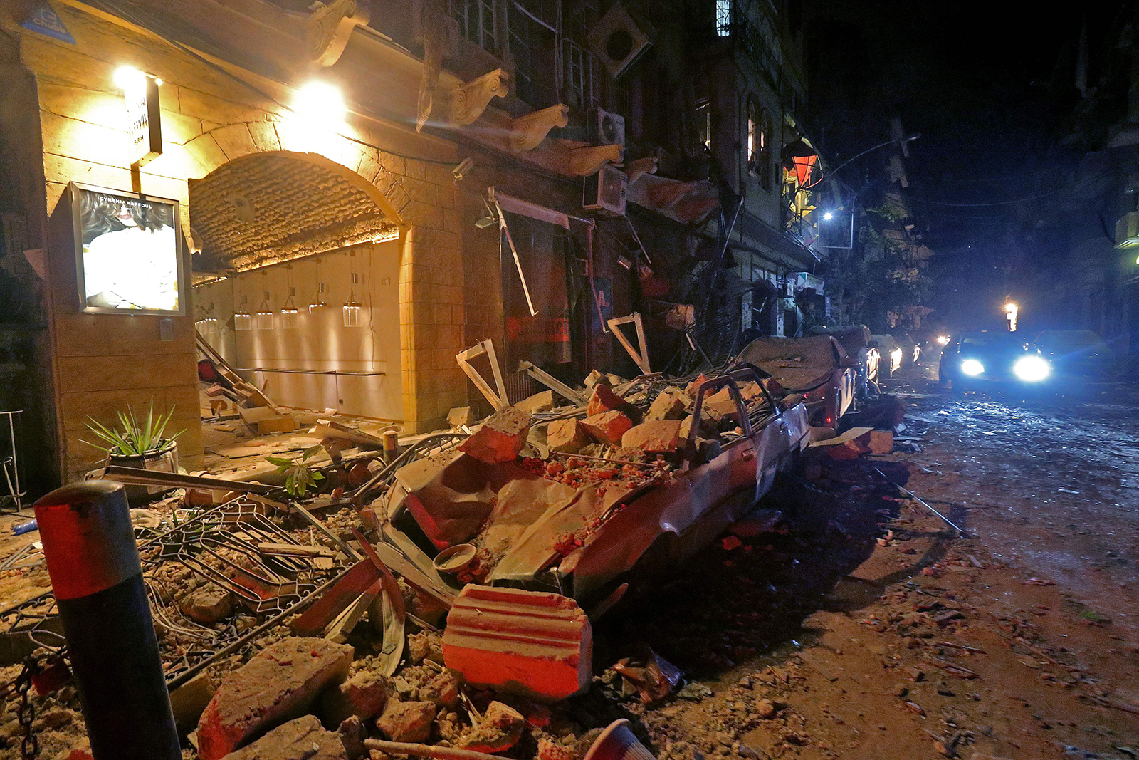 deadly explosion in beirut shocks the world trump said it looks like a terrible attack