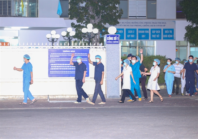 danang c hospital reopened after two weeks of lockdown