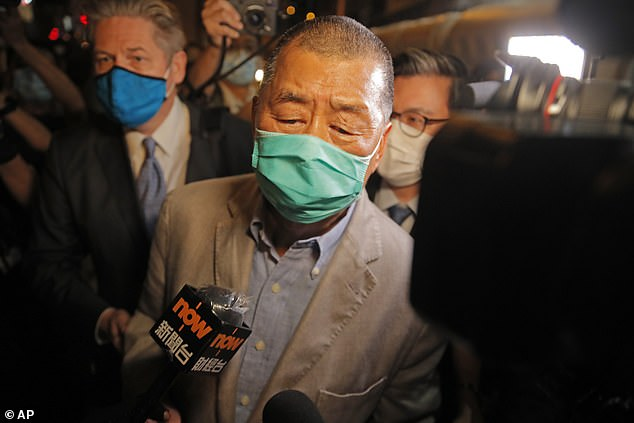 hong kong media tycoon jimmy lai released after 2 days on bail