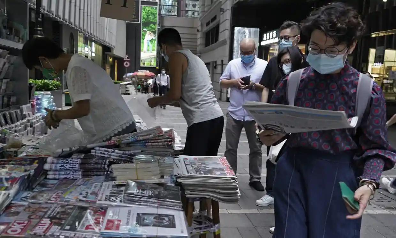 Hong Kong denies a foreign  journalist visa amidst natinal security law concerns