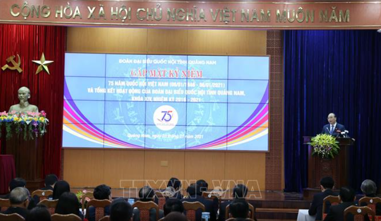 PM attends ceremony marking 75 years of first general elections