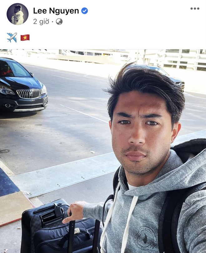 Lee Nguyen flew back to Vietnam, becoming the most expensive player in the V League 2021