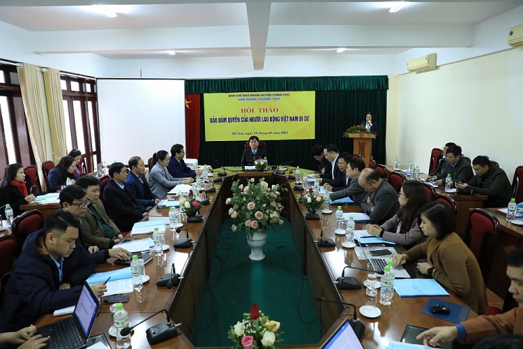"Workshop ""Ensuring the rights of migrant Vietnamese workers"" to address 5 key issues"