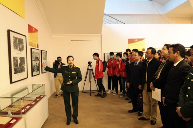the communist party of vietnams exhibition opens in hanoi