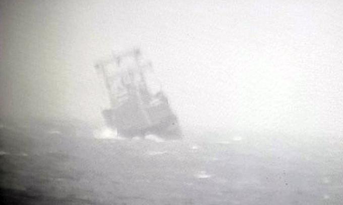 panamanian ship sinks near central coast 15 chinese vietnamese sailors missing