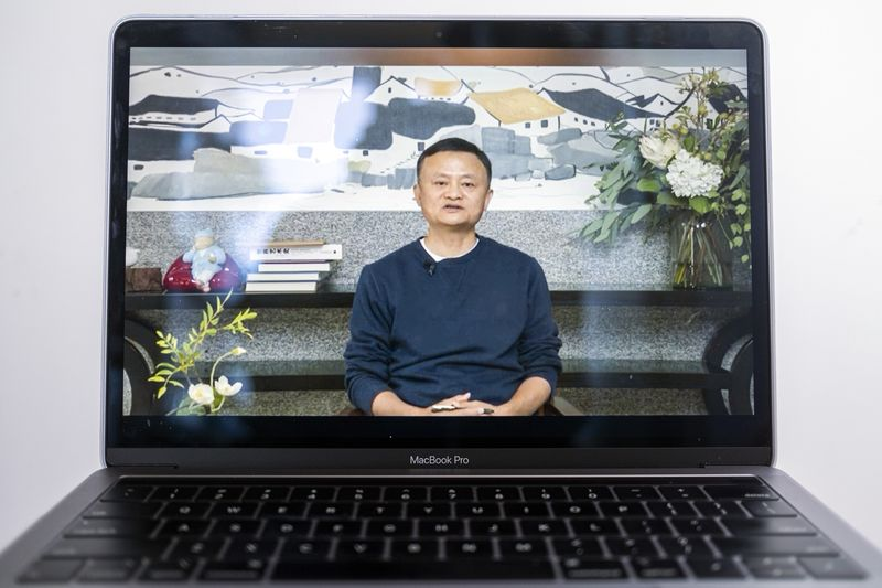 jack ma makes first public appearance in months of disappearing