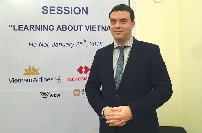 Israeli ambassador values Vietnam's development policy under Party leadership