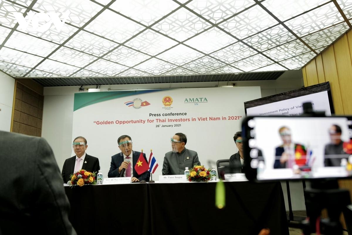 thai investors interested in business opportunities in vietnam